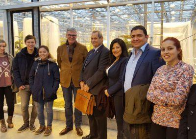 Ministro de Agricultura de Costa Rica visitó la Universidad de Wageningen