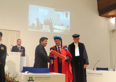 Pablo Chong Aguirre se gradúa en la Universidad de Wageningen