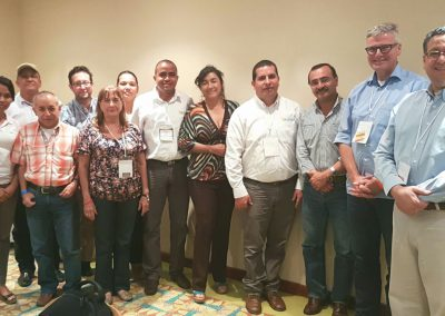 Kema crossed the globe 5 - meeting with ICA, Santa Marta, Colombia