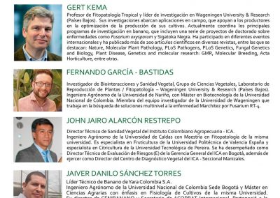Wageningen scientists participate in Colombian Banana forum 2017, poster
