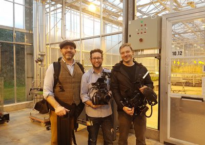 National Geographic visits Wageningen University and Research