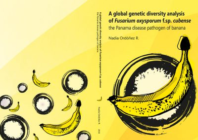 A global genetic diversity analysis of Fusarium oxysporum f.sp. cubense (Foc), cover